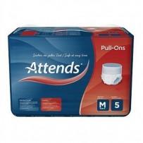 Attends Pull-Ons 5 Medium 8 Pack