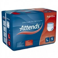 Attends Pull-Ons 5 Large 7 Pack