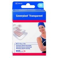 Coverplast Transparent Waterproof Adhesive Dressings 20 - Assorted