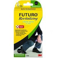 Futuro Revitalizing Casual Socks For Men 1 Pair - Medium - Everyday Use