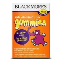 Blackmores 澳佳宝 儿童维他命C+锌草莓软糖(补充营养)36片