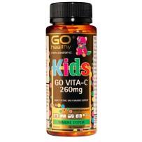 GO Healthy 高之源 260mg儿童维生素C咀嚼片 60片(香橙味)