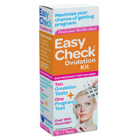 EasyCheck Ovulation Kit + Pregnancy Test