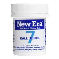 New Era - Tissue Salt No.  7 Kali. Sulph. Tablets 240