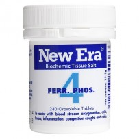 New Era - Tissue Salt No.  4 Ferr. Phos. Tablets 240