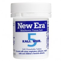 New Era - Tissue Salt No.  5 Kali. Mur. Tablets 240