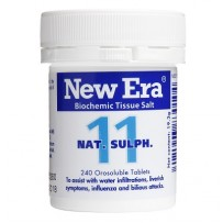 New Era - Tissue Salt No. 11 Nat. Sulph. Tablets 240