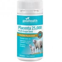 Good Health 好健康 25000mg羊胎素精华胶囊  60粒