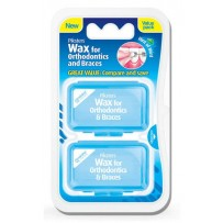 Piksters Wax for Orthodontics & Braces Twin Pack (4 Colours)