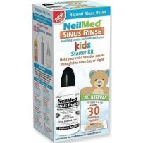 Neilmed 儿童洗鼻盐套装(盐水喷雾剂 120ml+鼻腔冲洗盐包 30包)