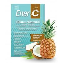 Ener-C 1000mg维生素C泡腾冲剂 9gX30包(椰子菠萝味)