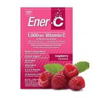 Ener-C 1000mg维生素C泡腾冲剂 9gX30包(树莓味)
