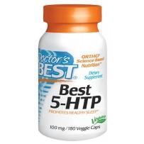 Doctor's Best 100mg 5-HTP羟色氨酸胶囊 180粒