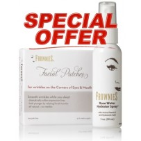Frownies DUO Set 2 - Facial Patches Eyes & Mouth - FREE Hydrating Spray