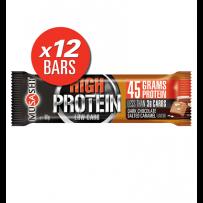 Musashi High Protein Bars 12 x 90g - Dark Choc Salted Caramel