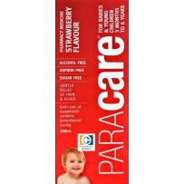 Paracare Junior Suspension Strawberry Flavour 200mL 每单限购1件