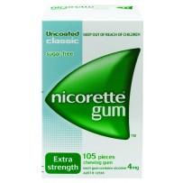 Nicorette 力克雷 4mg 经典口味戒烟口香糖 105粒