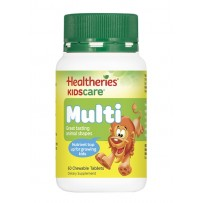 Healtheries 贺寿利 儿童成长营养咀嚼片 60片