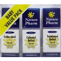 Naturo Pharm Baby Value Pack - 3x sprays