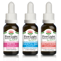 First Light Natural Health Mother & Baby Kit 3 x 20ml