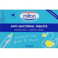 Milton Tablets 30 - Antibacterial Tablets