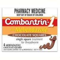Combantrin 驱虫巧克力 4块装  每单限购1件