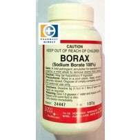 Borax (Sodium Borate) API 100g