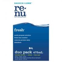 Bausch & Lomb ReNu FRESH Duo Pack (355ml + 120ml + lens case) - SOFT LENSES