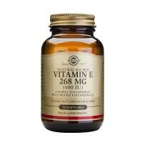 Solgar Vitamin E 268mg (400iu) Softgels 50