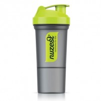 Nuzest Smart Shaker Green/Grey 350ml