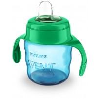 Philips Avent 新安怡 6月以上婴幼儿饮水杯 200ml(蓝色/绿色)