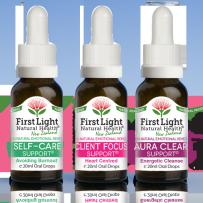 First Light Natural Health Therapist & Caregiver Kit 3 x 20ml
