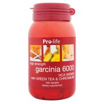 prolife Garcinia 6000 HCA 900MG Tablets 100