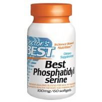 Doctor's Best 100mg磷脂酰丝氨酸健脑益智胶囊 60粒