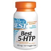 Doctor's Best 100mg 5-HTP羟色氨酸胶囊 60粒