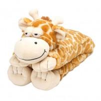 Intelex 长颈鹿保暖公仔玩具(可微波加热)