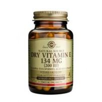 Solgar Vitamin E 134mg (200iu) Dry VegeCaps 50