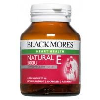 Blackmores 澳佳宝 500IU纯天然维生素E胶囊 50粒