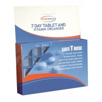 SurgiPack 7 Day Tablet & Vitamin Organiser