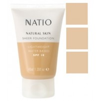Natio Natural Skin Foundation 40ml - NATURAL