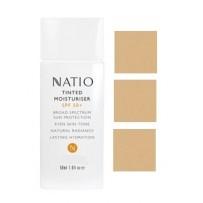 Natio TINTED Moisturiser 50ml SPF50 - TAN