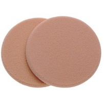 Manicare Foundation Sponges - Latex Round Pk 2