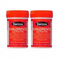 【两件免邮装】Swisse 儿童复合维生素+矿物质咀嚼片 60片