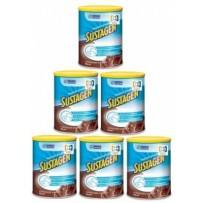 Sustagen 雀巢 医用级配方奶粉 巧克力味 840g 6罐装
