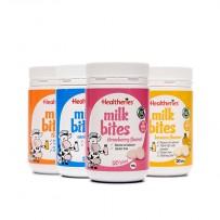 【四种混合口味免邮装】Healtheries 贺寿利 牛奶味咀嚼片 50片x4